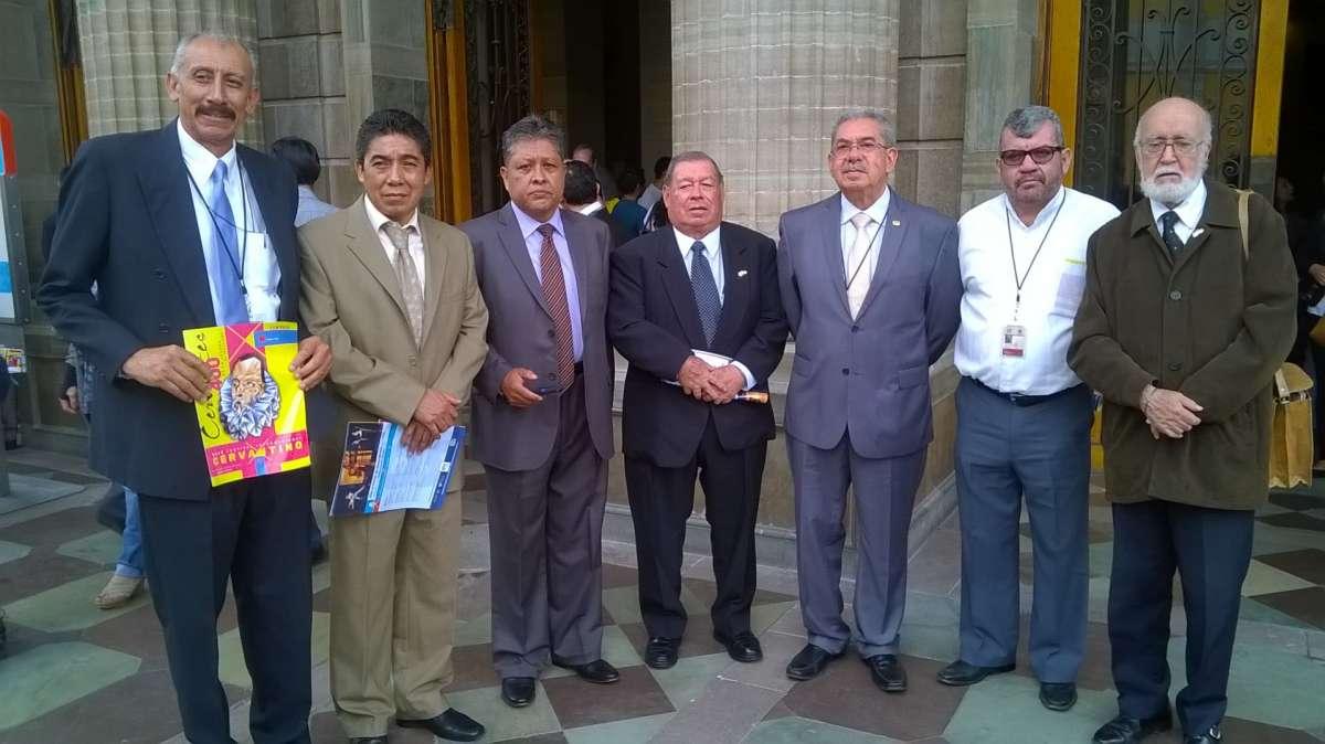 Cronistas en el Teatro Juárez
